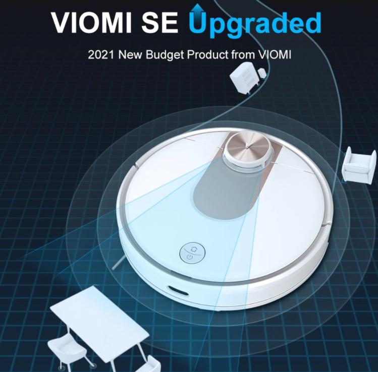 Továbbfejlesztették a Viomi SE robotporszívót 2