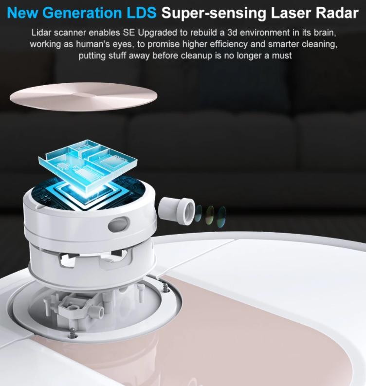 Továbbfejlesztették a Viomi SE robotporszívót 4