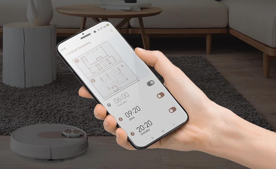 Továbbfejlesztették a Viomi SE robotporszívót 10