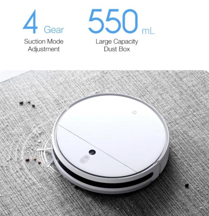 Modellfrissítést kapott a Xiaomi Vacuum-Mop robotporszívó 8