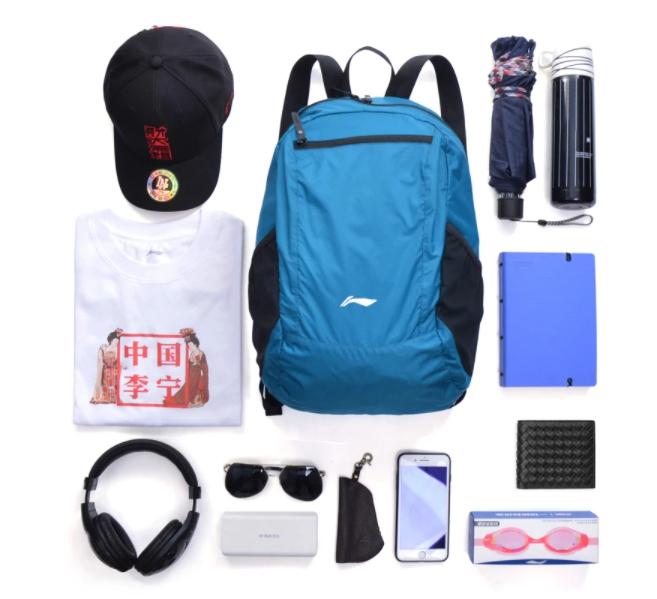 Összehajtható, filléres Li-Ning hátizsák kapható 4