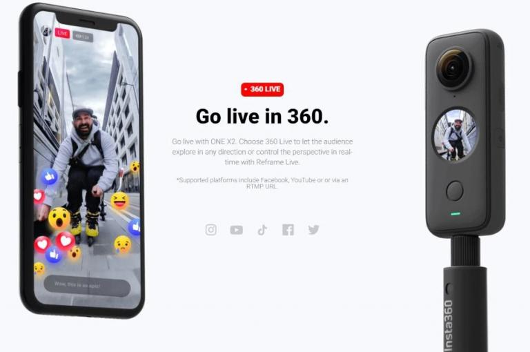 Az Insta360 ONE X2 extrém jó áron rendelhető 7