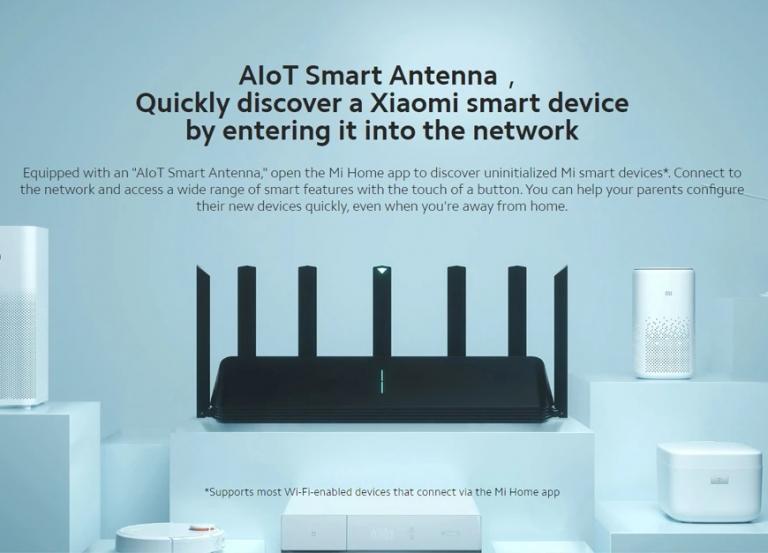 Már megfizethető a Xiaomi AX3600-as AIoT routere 4