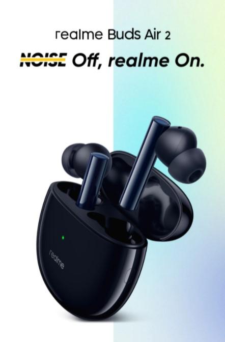 Leakciózták a Realme Buds Air 2-t 2