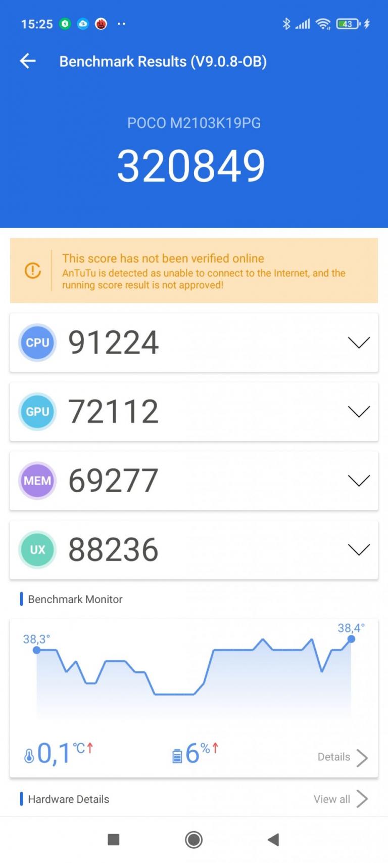 Poco M3 Pro okostelefon teszt 23