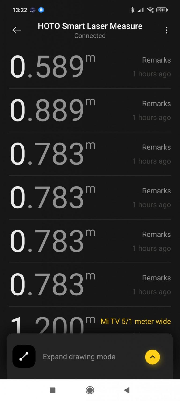 HOTO lézeres okos távolságmérő teszt 18