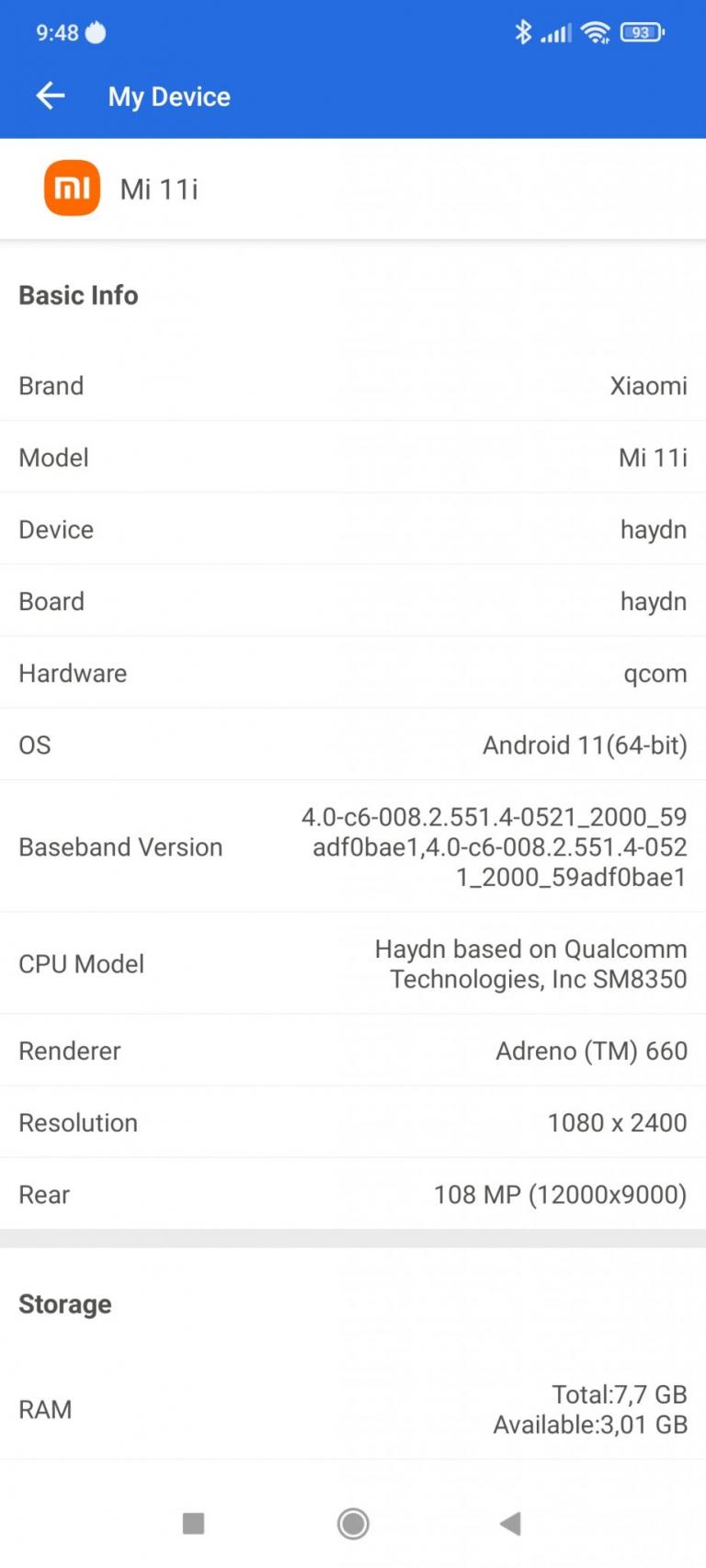 Xiaomi Mi 11i okostelefon teszt 32