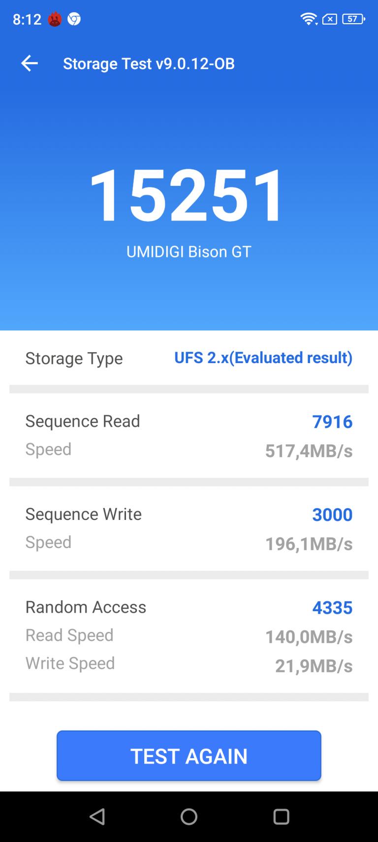 Umidigi Bison GT strapatelefon teszt 26