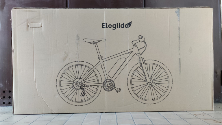 Eleglide M1 elektromos kerékpár teszt 2