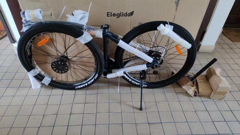 Eleglide M1 elektromos kerékpár teszt 4