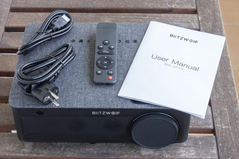 BlitzWolf BW-VP10 projektor teszt 14