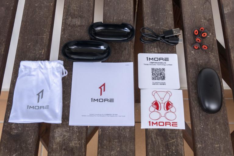 1MORE ComfoBuds Pro TWS fülhallgató teszt 4