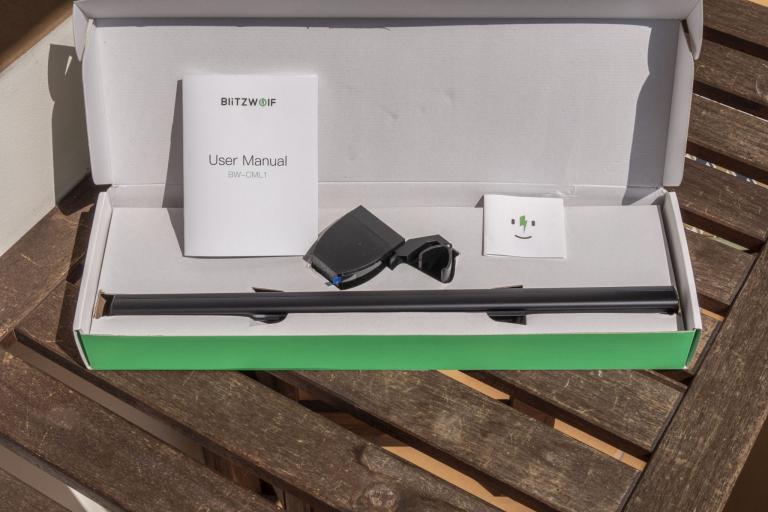 BlitzWolf BW-CML1 monitor lámpa teszt 3