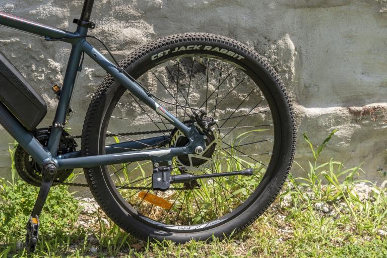 Eleglide M1 elektromos kerékpár teszt 31