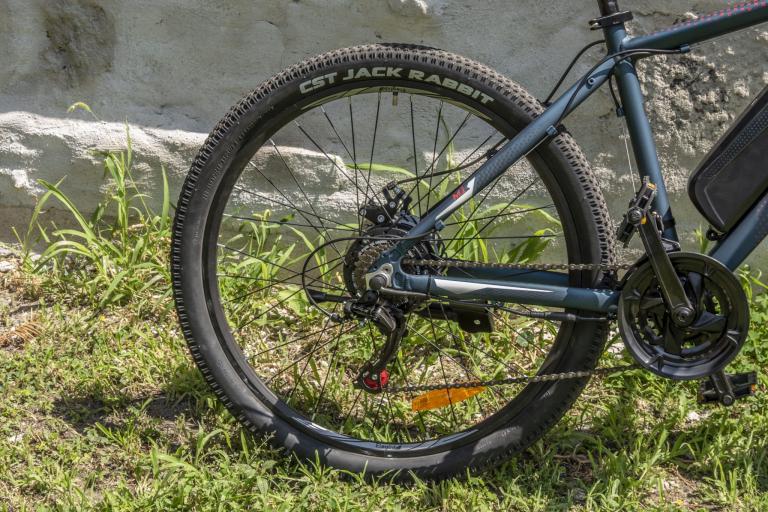Eleglide M1 elektromos kerékpár teszt 28
