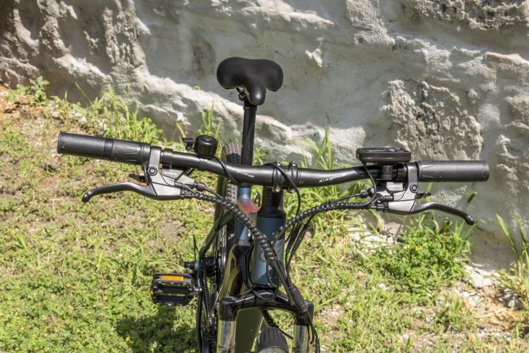 Eleglide M1 elektromos kerékpár teszt 23