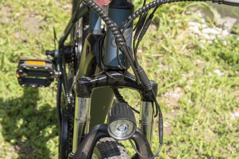 Eleglide M1 elektromos kerékpár teszt 22
