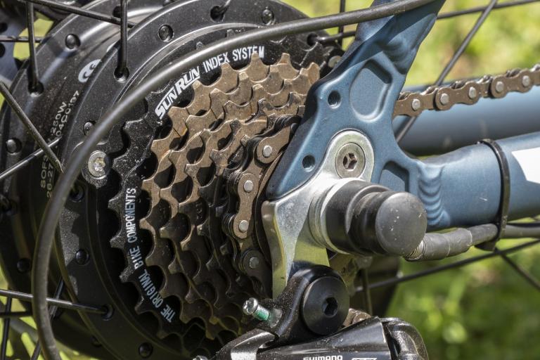 Eleglide M1 elektromos kerékpár teszt 7