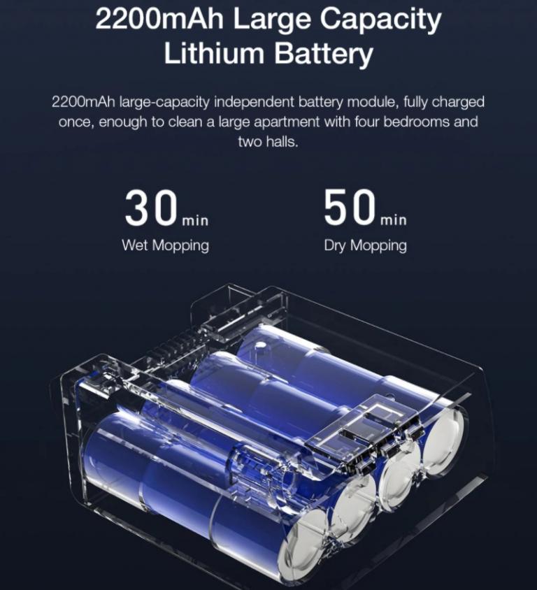 Remek áron kapható a Viomi elektromos, akkus felmosógépe 5