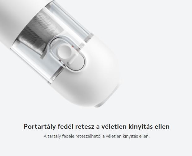 Rettentő olcsó a Mijia autós porszívó a magyar Xiaomishopban 7