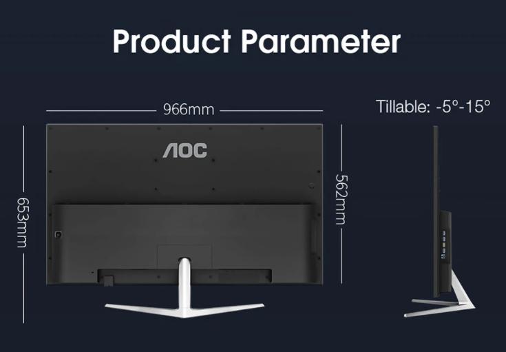 Pár darab AOC monitort lehet extrém olcsón rendelni 9