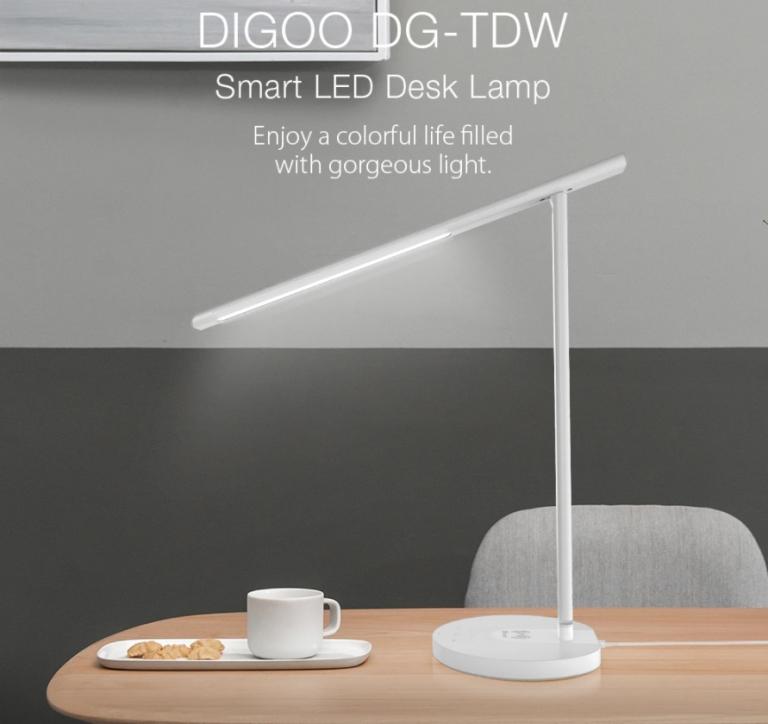 Qi töltős okos asztali lámpa akció a Banggood leárazásán 2