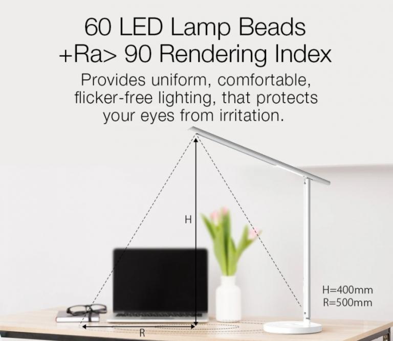 Qi töltős okos asztali lámpa akció a Banggood leárazásán 4