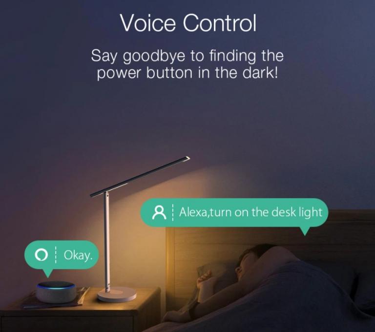 Qi töltős okos asztali lámpa akció a Banggood leárazásán 8