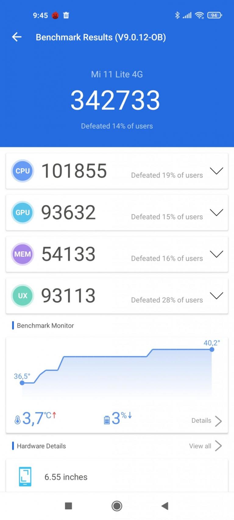 Xiaomi Mi 11 Lite okostelefon teszt 18