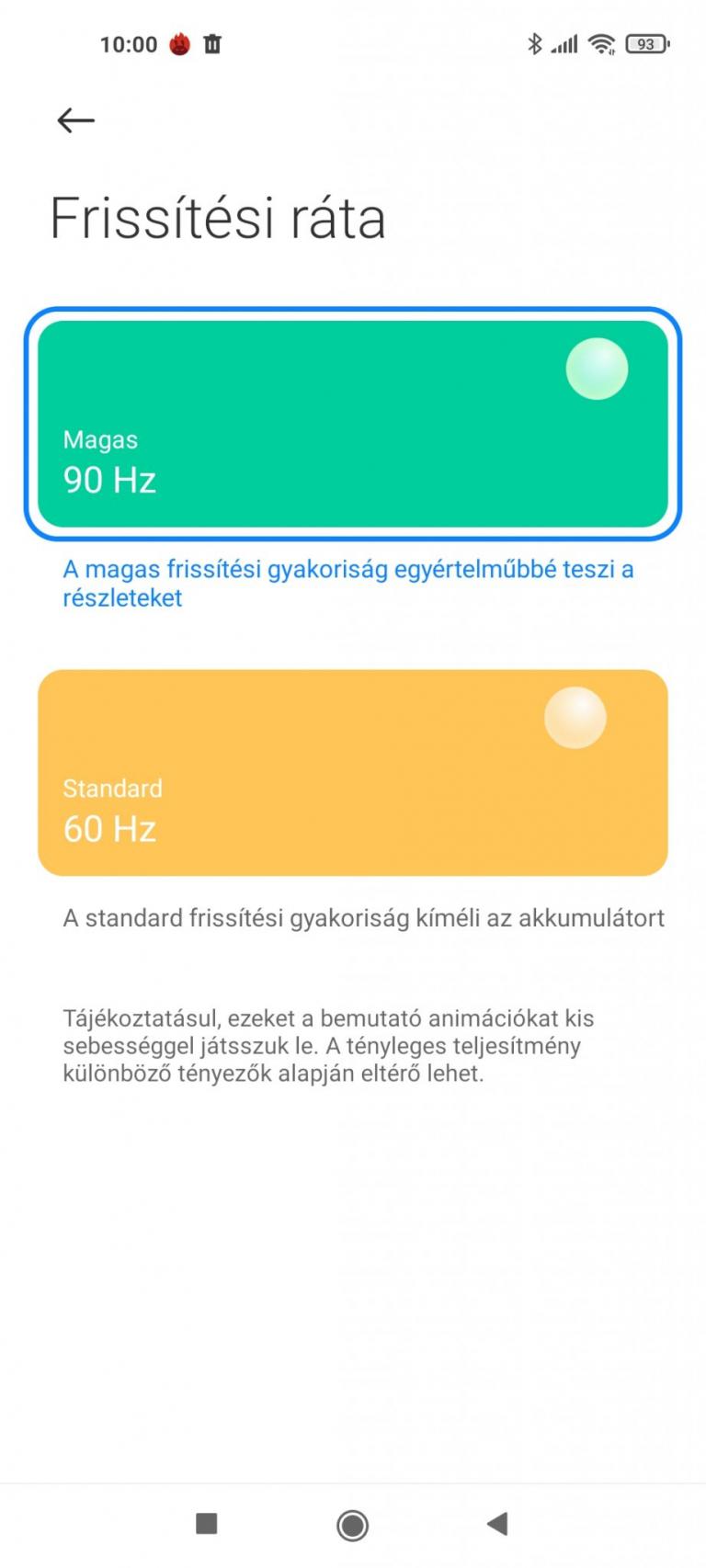 Xiaomi Mi 11 Lite okostelefon teszt 23
