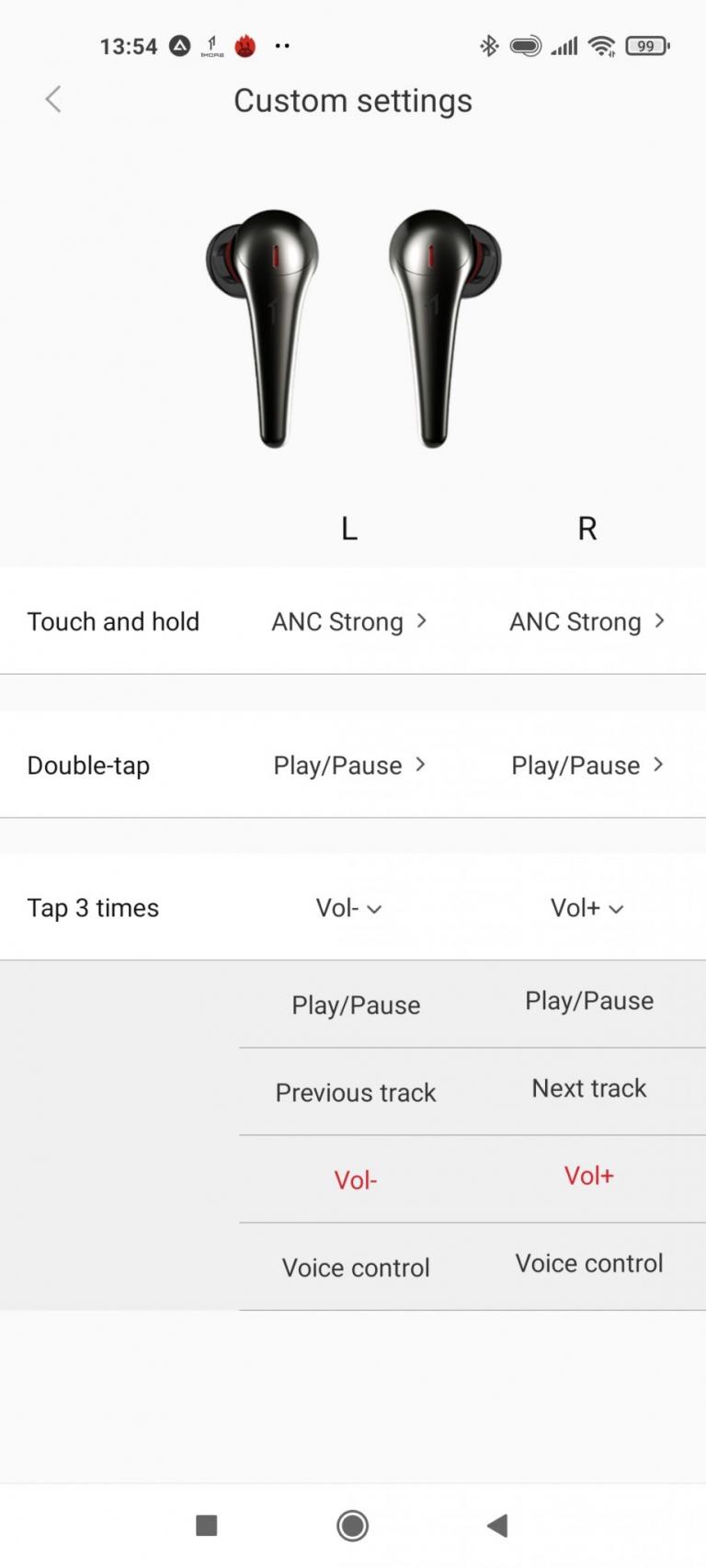 1MORE ComfoBuds Pro TWS fülhallgató teszt 19