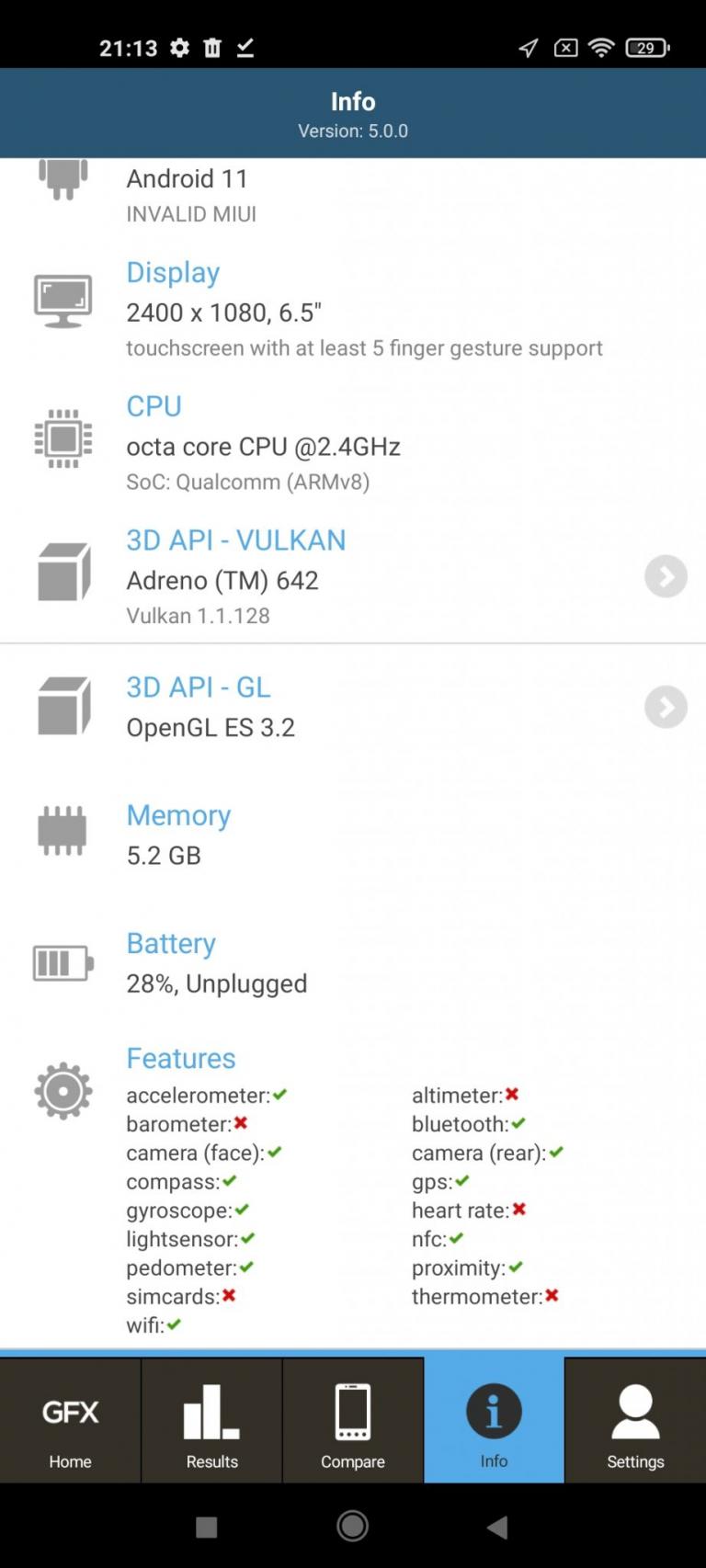 Xiaomi Mi 11 Lite 5G okostelefon teszt 17