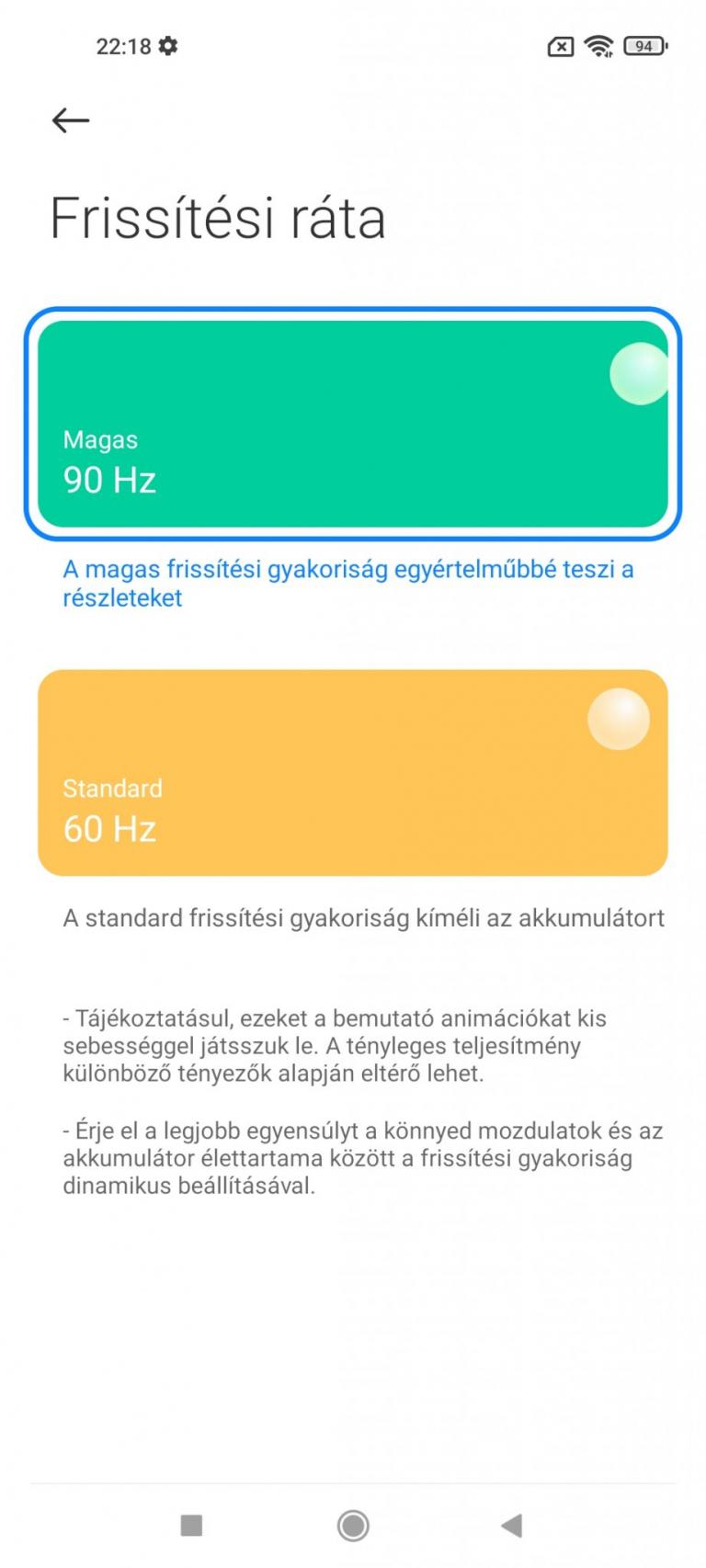 Xiaomi Mi 11 Lite 5G okostelefon teszt 22