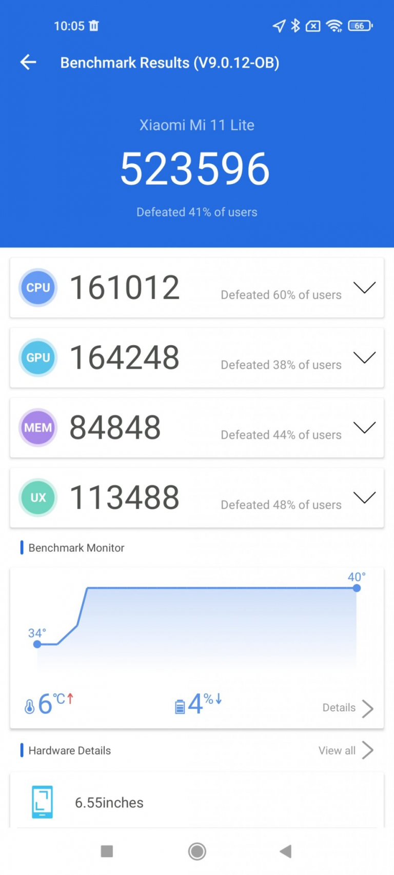 Xiaomi Mi 11 Lite 5G okostelefon teszt 18