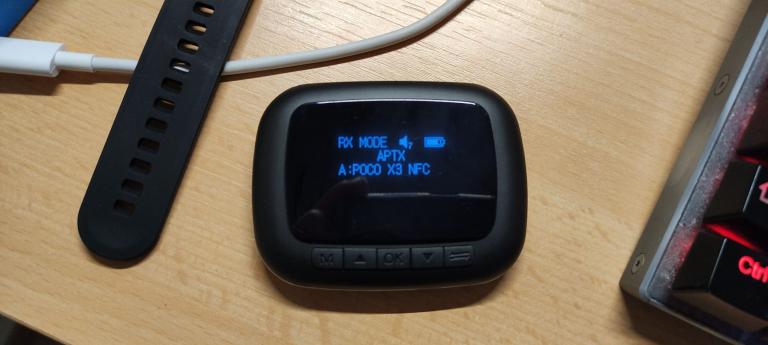 BlitzWolf BW-BR6 Bluetooth transzmitter teszt 5