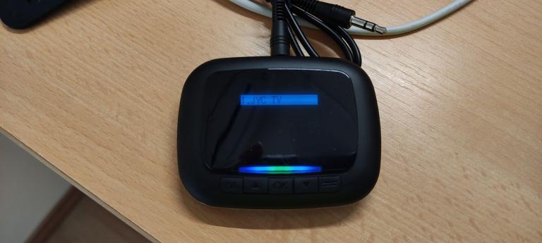 BlitzWolf BW-BR6 Bluetooth transzmitter teszt 7