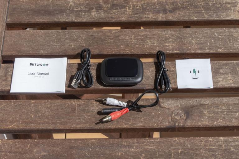 BlitzWolf BW-BR6 Bluetooth transzmitter teszt 3