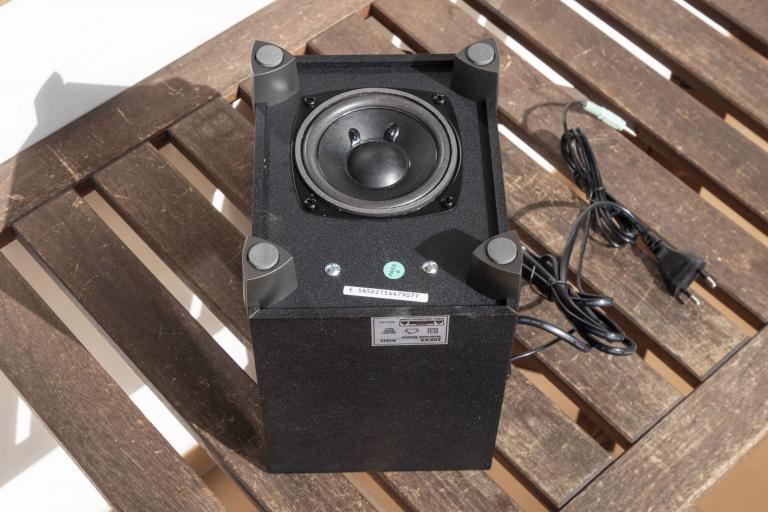Edifier R101V 2.1-es hangfalszett teszt 7