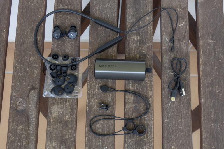 Airloop Snap 3 az 1-ben TWS fülhallgató teszt 4