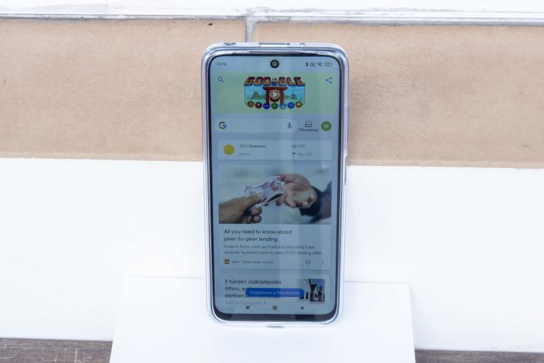 Xiaomi Redmi 10 okostelefon teszt 13