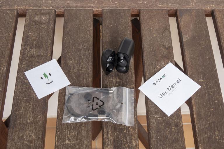BlitzWolf BW-FYE11 TWS fülhallgató teszt 5