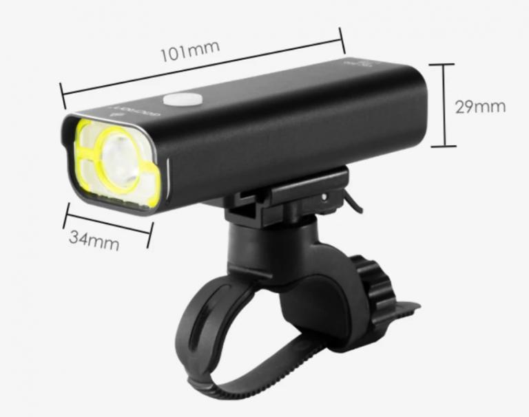 Akciós áron rendelhető a Gaciron 800 lumenes bicólámpája 8