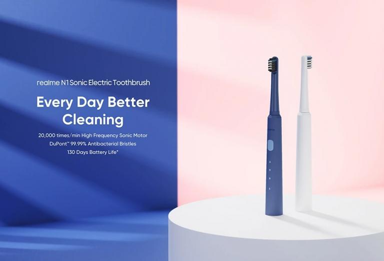 130 napos üzemidővel hódít a Realme elektromos fogkeféje 2