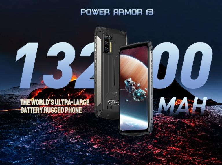 Nagyon durva strapatelefon lett az Ulefone Power Armor 13 2