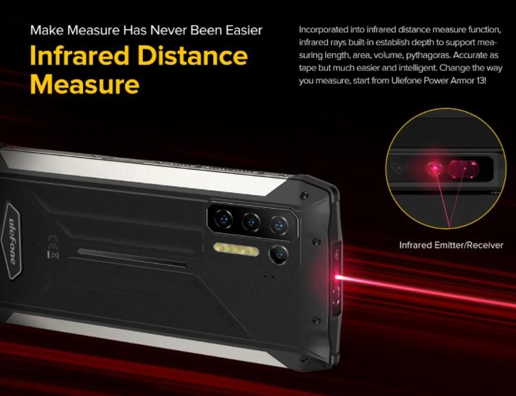 Nagyon durva strapatelefon lett az Ulefone Power Armor 13 9