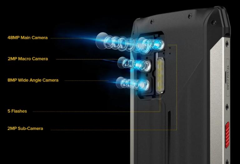 Nagyon durva strapatelefon lett az Ulefone Power Armor 13 7
