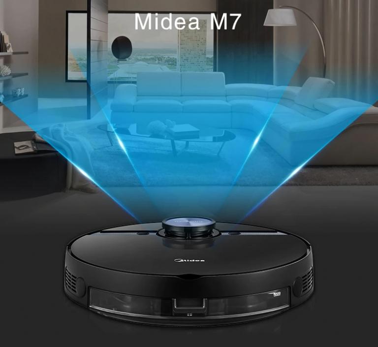 Már 200 dollár alatt a Midea M7 robotporszívó ára 5