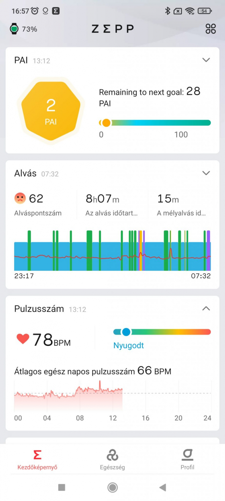 Xiaomi Amazfit GTR 2 sportóra teszt 26