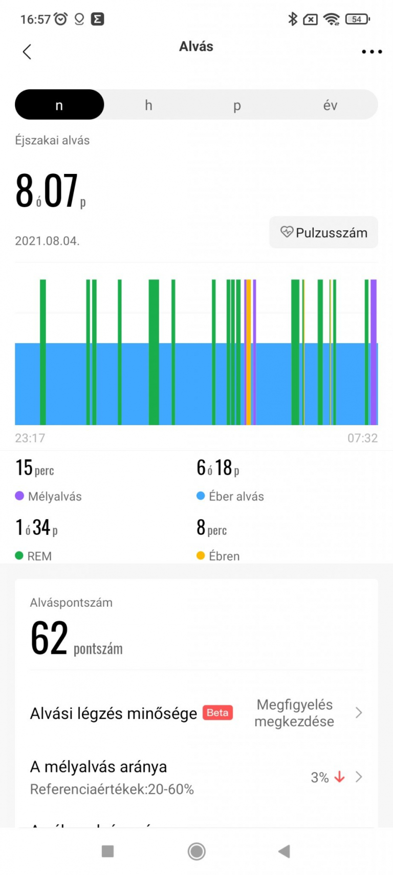 Xiaomi Amazfit GTR 2 sportóra teszt 27