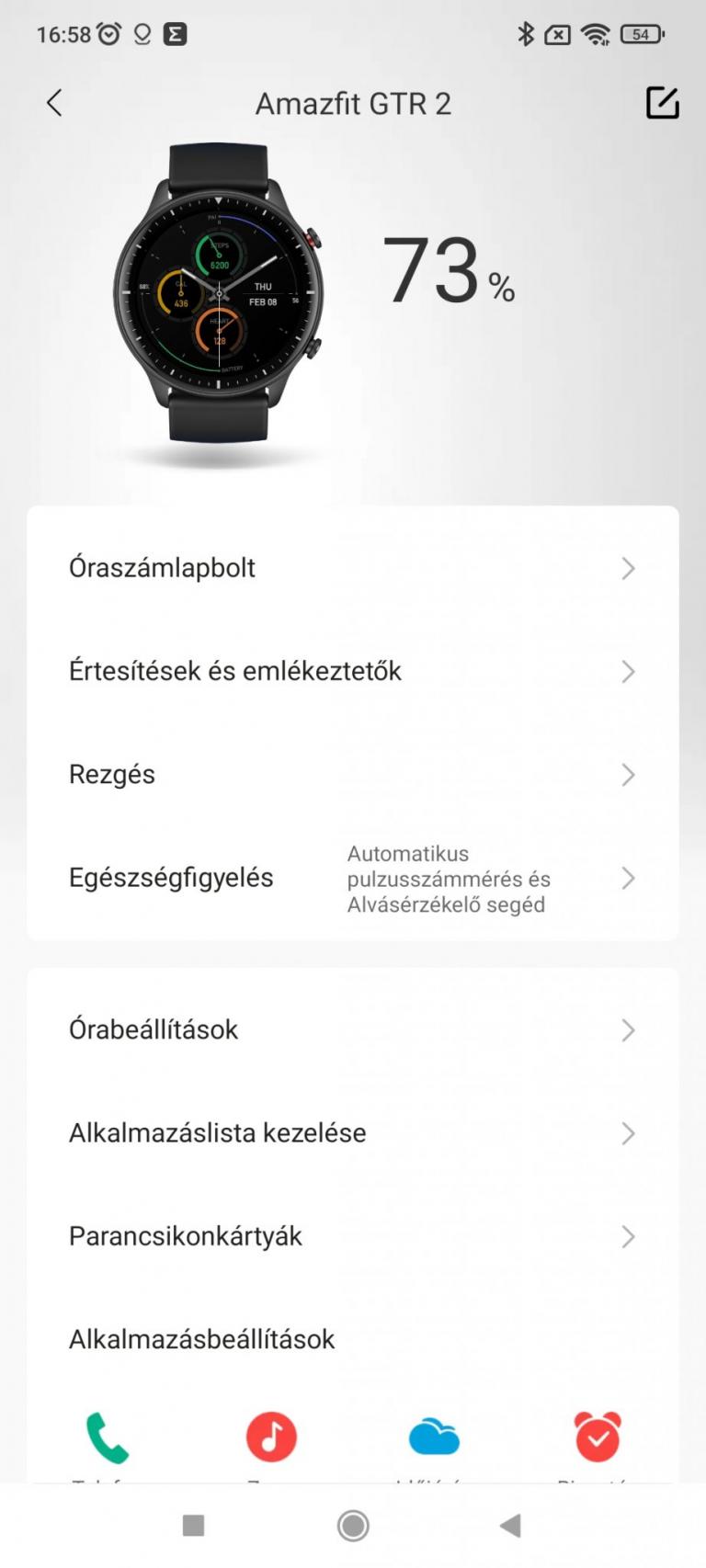 Xiaomi Amazfit GTR 2 sportóra teszt 32